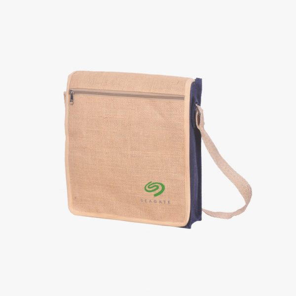 Eco-friendly canvas laptop bag